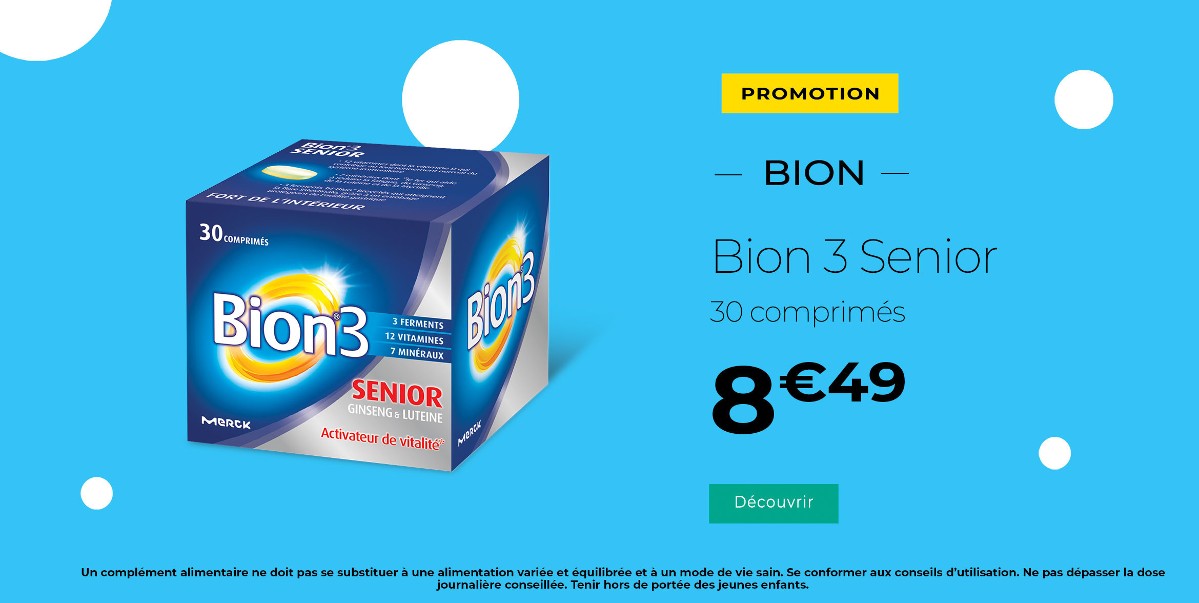 Offre spéciale Bion